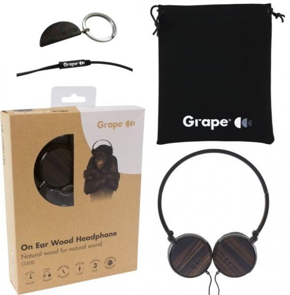 Grape O300 Ebony On-Ear Kopfhörer