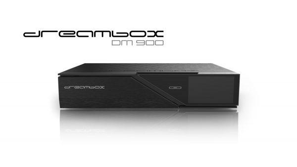 Dreambox DM900 UHD 4K 1x Dual DVB-C/T2 Tuner E2 Linux PVR Receiver Vorführgerät