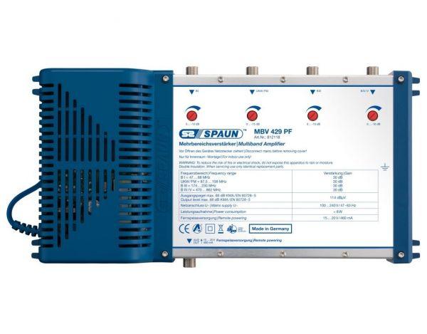 Spaun MBV 429 PF Mehrbereichsverstärker 30 dB Standard Klasse