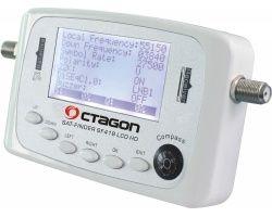 Octagon SF-418 LCD HD Satfinder mit Kompass und Ton