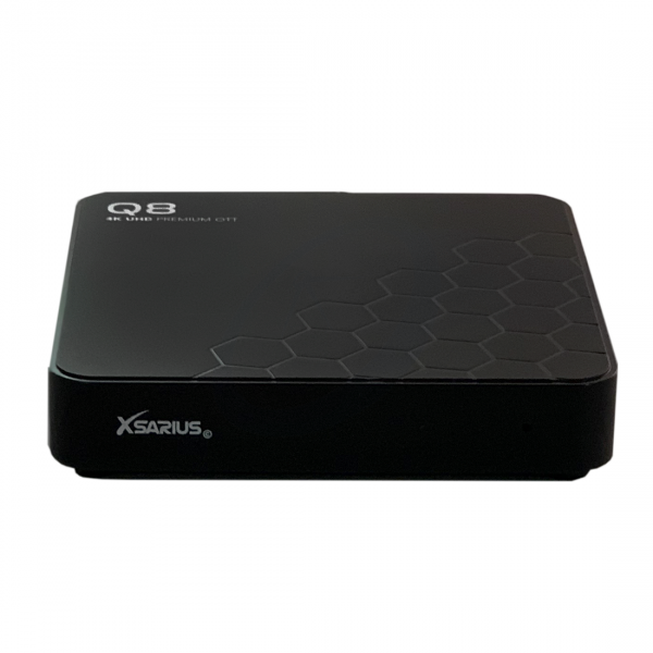 Xsarius Q8 V2 - 4K UHD OTT Media Streamer,Premium TV, WLAN, Bluetooth, Android 8.0 Oreo