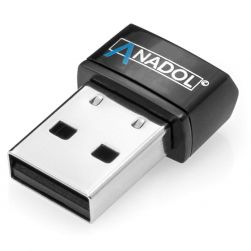 Anadol 150Mbit/s AWL150 Micro USB Wlan Stick Schwarz Bulk