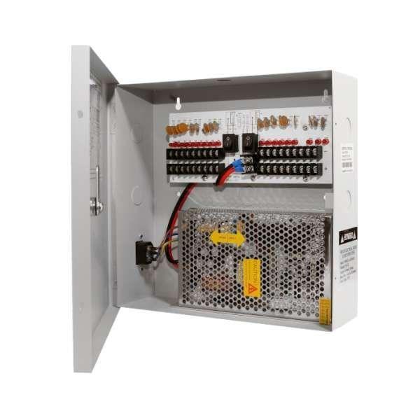 Neostar BMPA-1218-20A 18 Kanal Stromkasten mit 12V DC 20A 240Watt für Kameras