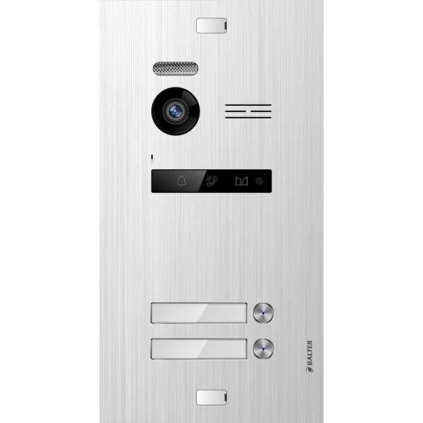 Balter EVO SILVER Video-Türsprechanlage 7 Wifi Monitor 2-Draht BUS für 2 Familienhaus App Steuerung