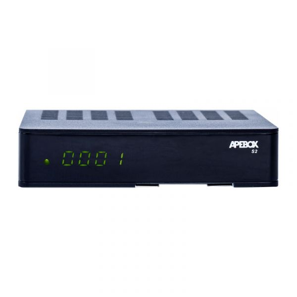 Apebox S2 Full HD 1080p H.265 LAN DVB-S2 Sat Multimedia IP Receiver