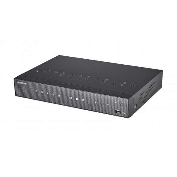 BALTER BNR-1108PII 8-Kanal 3840x2160p H.265 PoE 4K Netzwerk Kamera Rekorder