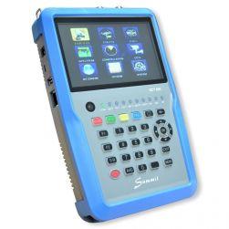 SUMMIT / Orbitech SCT 835 H.265 HD für DVB-S/S2/T/T2/C IPTV COMBO Satfinder mit Spektrum