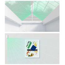 Preview: AJAX Funk Vorhangmelder MotionProtect Curtain für Fenster & Türen Weiss