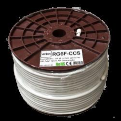 Venton Koaxial Sat Kabel RG6F-CCS 135dB 5-fach geschirmt High Quality 100m