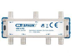 Spaun VBE 6 PD 6-fach Verteiler BK-tauglich