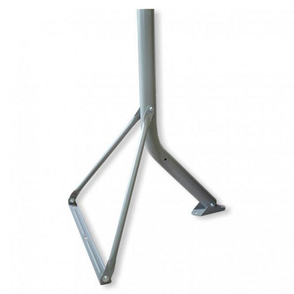 Wandhalter / Standfuß Stahl I-F1 T90 antrazit