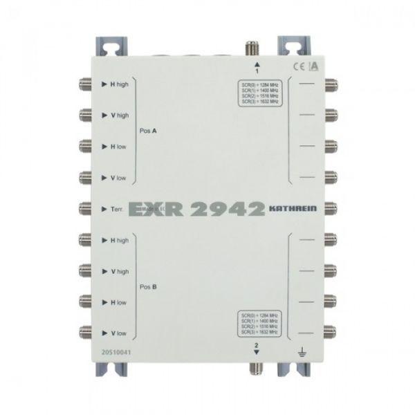 Kathrein EXR 2942-Einkabel-Multischalter Kaskade 9 auf 2x4