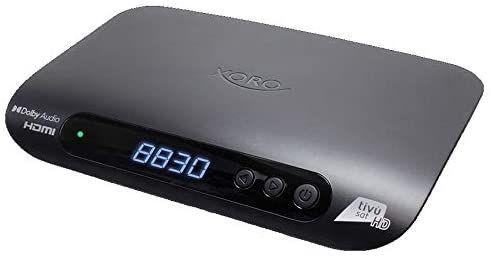 Xoro HRS 8830 Full HD HEVC H.265 Smartcard HDMI DVB-S2 Sat Receiver mit Tivusat HD Karte