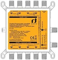 Preview: Inverto Unicable II IDLU-UWT110-CUO1O-32P 5/32 Multischalter + 2X Wideband LNBs
