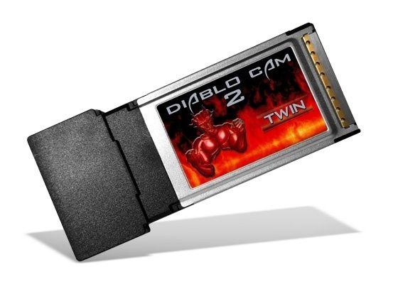 "Diablo Cam 2 Twin 2x ISO Kartenleser ""New Version"""