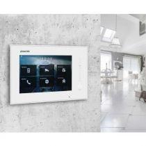 Preview: BALTER ERA Schwarz RFID 2-Draht BUS IP 7 WiFi Video Türstation iOS Android App für 4 Familienhaus