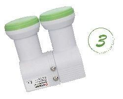 Octagon Flex-Feed Monoblock Single Green HQ OFFLG LNB 0.1dB
