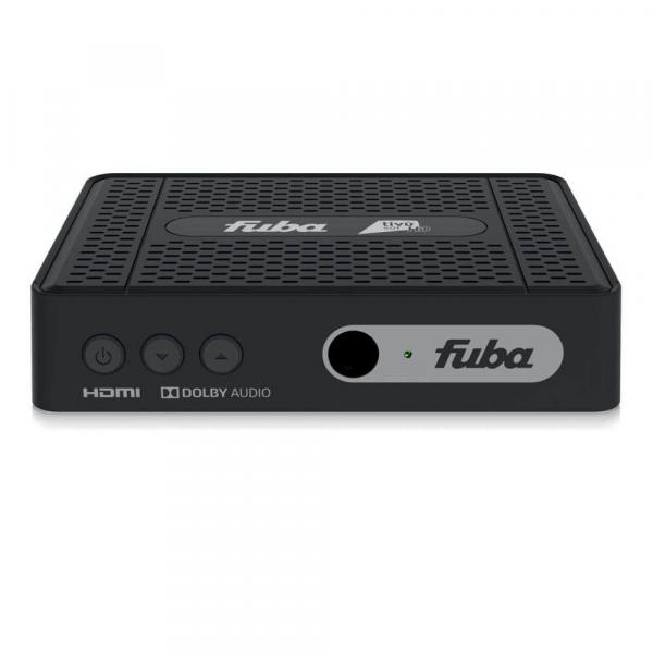 FUBA ODE718 Full HD HEVC H.265 Smartcard HDMI DVB-S2 Sat Receiver mit Tivusat HD Karte