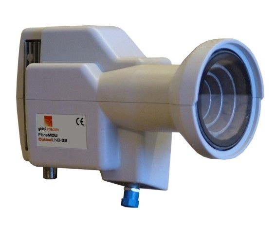 Invacom Fibre LNB Digital LNB mit opti. Ausgang ( 62 LWL-Anschlüsse )