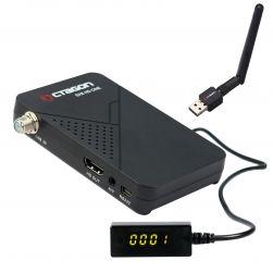 Octagon SX8 Mini Full HD DVB-S2 Multistream FTA Sat Receiver incl. USB Wlan 150 Mbit mit Antenne