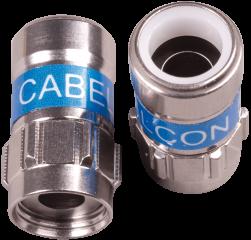 Cabelcon F-56 5.1 Self-Install Stecker NiTin
