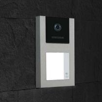 Preview: Balter EVO-AP Silber Quick Video Türsprechanlage 2-Draht BUS RFID Aufputz Set für 1 Familienhaus