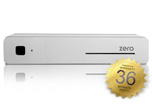 VU+ ZERO WE 1x DVB-S2 Linux Receiver Full HD 1080p (white)