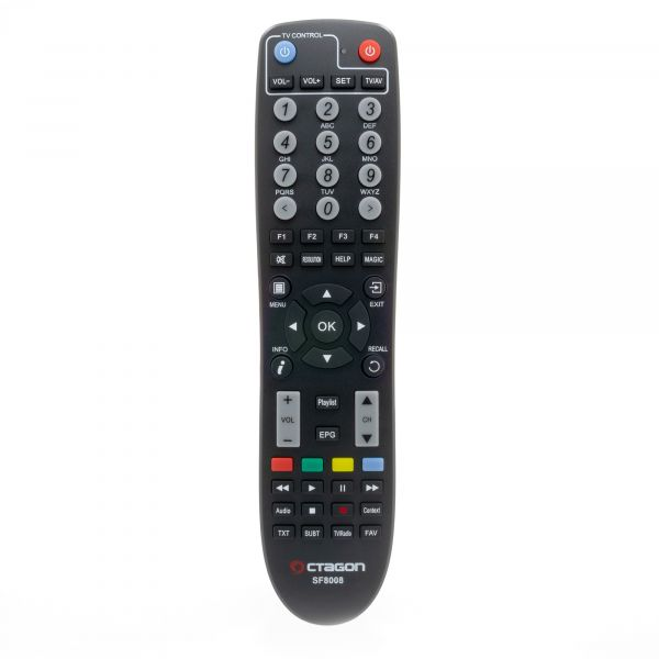 OCTAGON SF8008 4K UHD E2 2160p H.265 E2 Linux Dual Wifi DVB-S2X & T2C Gold Limited Combo Receiver