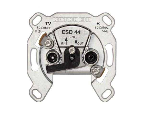 Kathrein ESD 44 Antennendose 2-fach Durchgangsdose