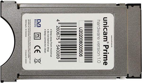 Unicam Prime CI Modul mit DeltaCrypt-Verschlüsselung 3.0 incl. USB Programmer