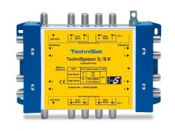 Technisat TechniSystem 5/8K Multischalter Kaskade