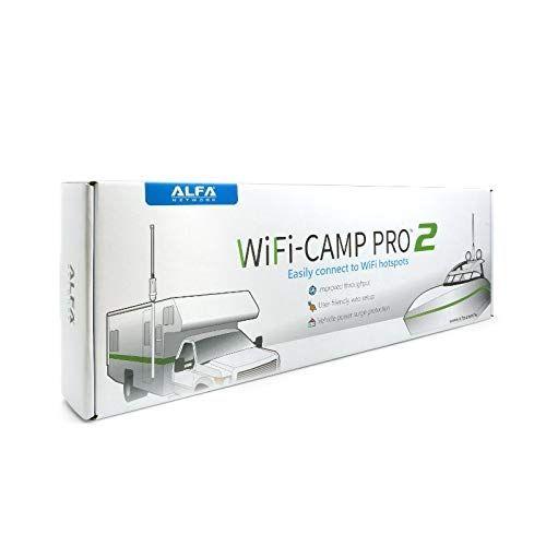 ALFA WiFi Camp-Pro 2 WLAN Range Extender Kit, 802.11b/g/n, 300MBit
