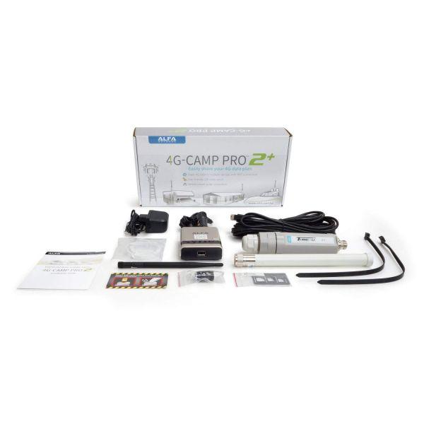 Alfa 4G CAMP Pro 2+ LTE Range Extender Kit