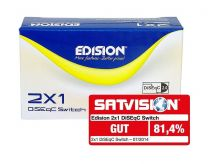 Vorschau: Edision DiSEqC Schalter Switch 2/1