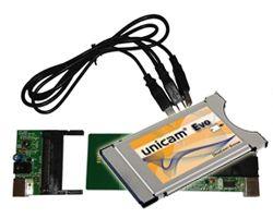 Unicam Evo Deltacrypt CI Cam Modul 4.0 + USB-Programmer Set ( Bundle )