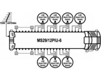 Vorschau: EMP ProfiLine MS29/12PIU-6 Multischalter