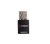 Preview: Octagon 300Mbit/s WL088 Wireless LAN USB2.0 Wlan Stick