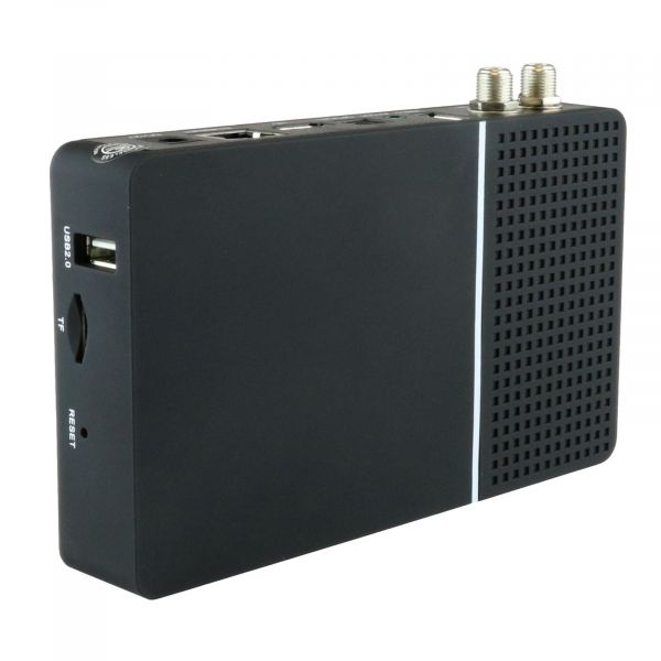 Maxytec Multibox 4K UHD 2160p E2 Linux USB HDMI DVB-S2X Dual Sat Receiver