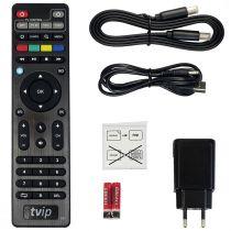 Preview: TVIP S-Box v.610 IPTV 4K HEVC UHD Android 8.0 Linux Multimedia Stalker Streamer
