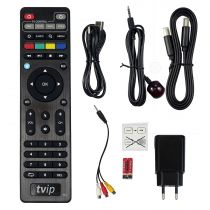 Preview: TVIP S-Box v.415se IPTV/OTT Media Player 2.4/5GHz WLAN