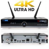Vorschau: OCTAGON SF8008 4K UHD 2160p H.265 HEVC E2 Linux Dual Wifi DVB-S2X & T2C Combo Receiver