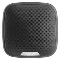 Vorschau: AJAX Funk Außensirene 113dB StreetSiren Smarthome & APP-Funktion für AJAX Hub Schwarz