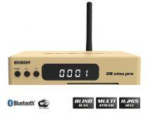 Vorschau: Edision OS nino pro DVB-S2X + DVB-T2/C Full HD Receiver gold