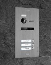 Vorschau: Balter EVO SILVER Video-Türsprechanlage 7 Wifi Monitor 2-Draht BUS für 3 Familienhaus App Steuerung
