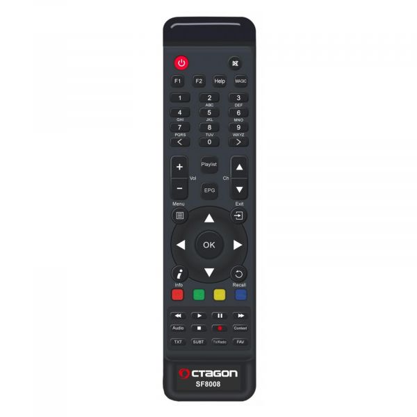 OCTAGON SF8008 4K UHD 2160p H.265 HEVC E2 Linux Dual Wifi DVB-S2X & T2C Combo Receiver