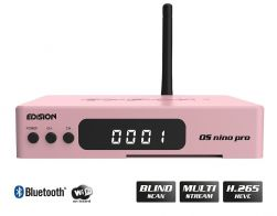 Edision OS nino pro DVB-S2X + DVB-T2/C Full HD Receiver rose gold