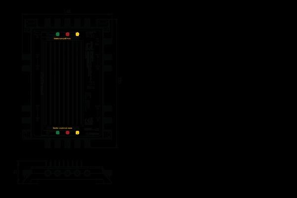 Inverto IDLU-UST110-CUO8O-32PP Unicable II Multischalter 8x16 / Legacy / Terrestrisch