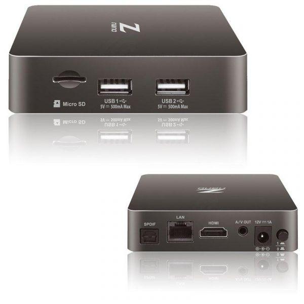 Formuler Z Nano Full HD Android IPTV Kodi Stalker Player H.265 HEVC WLAN