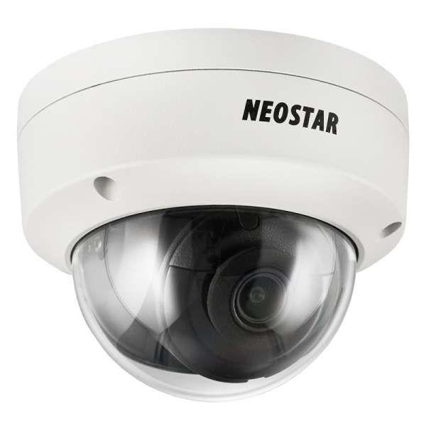 Neostar 8.0MP EXIR NTI-D8007IR 3840x2160p H.265 IR 2.8 IP Dome-Kamera WDR 30m Nachtsicht