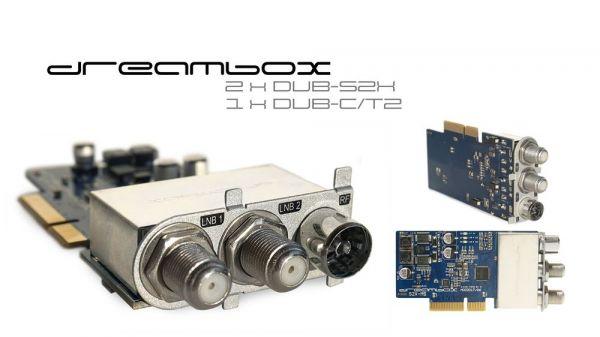 Dreambox Triple 2x DVB-S2 / 1x DVB-C/T2 MultiStream Tuner